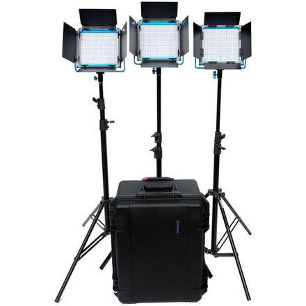 Dracast LED500 S-Series Daylight 3-Light Kit