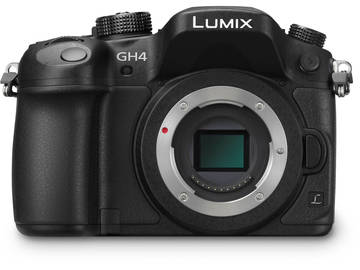 Rent: Panasonic Lumix GH4 4K M4/3 with 2 batteries and charger