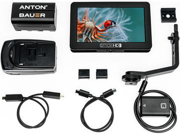 """Rent: SmallHD FOCUS Sony bundle 5"""" display with accessories"""