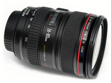 Rent: Canon EF 24-105mm f/4 L IS USM Lens for Canon EOS SLR Camera