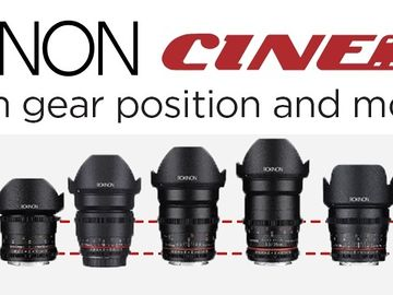 Rokinon Cine DS 6 Lens  SONY E (14, 24, 35, 50, 85, 100) +ND