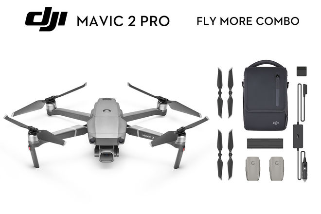 Mavic Pro 2 w/ND Filters + FLY MORE 3 BATTERIES