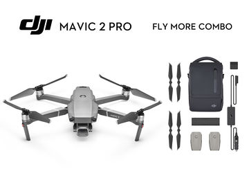 Rent: Mavic Pro 2 w/ND Filters +DJI Goggles + FLY MORE 3 BATTERIES