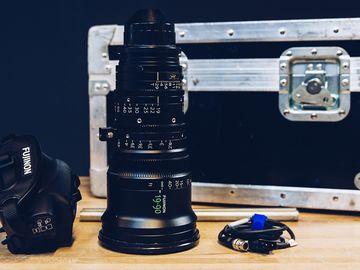 Rent: Fujinon 19-90mm T2.9 Cabrio Zoom w/ Arri LMB-15 Clip on