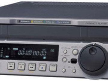Rent: Sony J-30 Digital Betacam Player