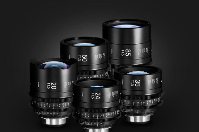Sigma T1.5 FF High-Speed 5-Lens Kit with Case (PL Mount)