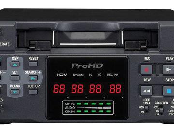 Rent: JVC BR-HD50U HDV Deck