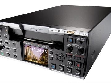 Rent: Sony HVR-M25U HDV deck