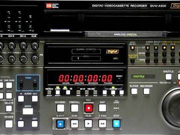 Rent: Sony DVW-A500 Digital Betacam Editing Recorder