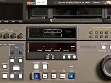 Rent: Sony DVW-510 Digital Betacam Player NTSC/PAL