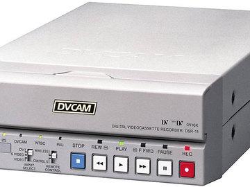 Rent: Sony DSR-11 Compact DVCAM / DV VTR
