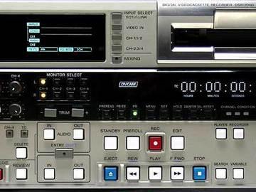 Rent: Sony DSR-2000 DVCAM / DV Deck
