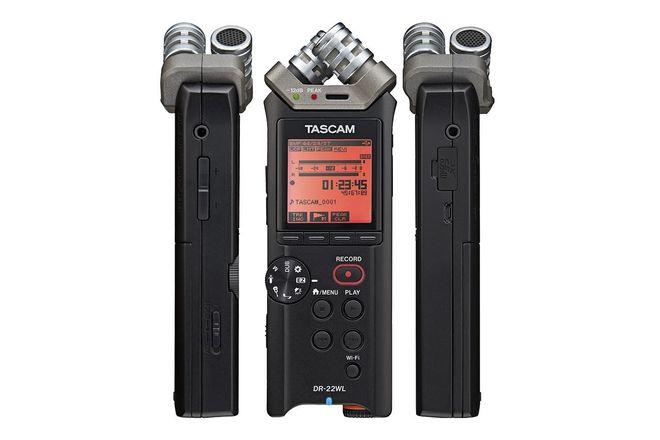 Tascam DR-22WL Portable Handheld Recorder