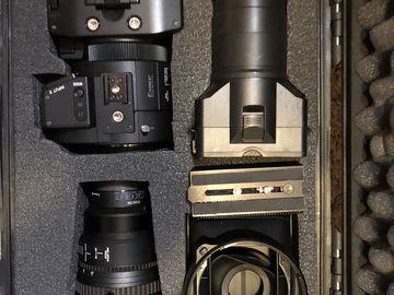 Rent: Sony NEX-FS700R Super 35 4k Camera w/ 28-135 f4 G OSS