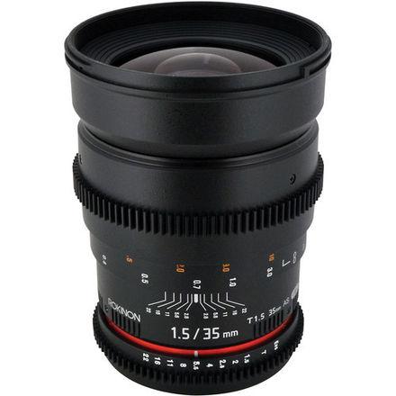 Rokinon Cine 35mm T1.5 EF Mount Canon Lens