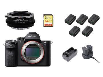 Sony A7S II 4K Kit (w/ NDs, 5x batts, SD Card) EF Mount