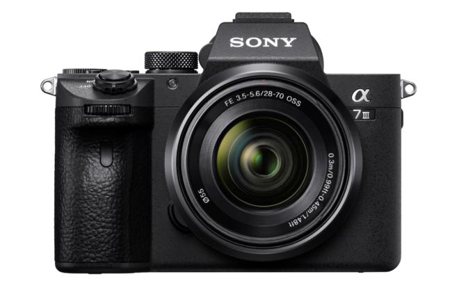 Sony a7 III Full-Frame Mirrorless Camera w/ Kit Lens