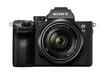 Sony a7 III Full-Frame Mirrorless Camera w/ Kit Lens