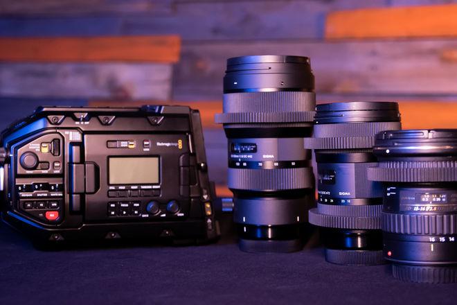 Blackmagic URSA Mini Pro (Ready to shoot WITH GLASS)