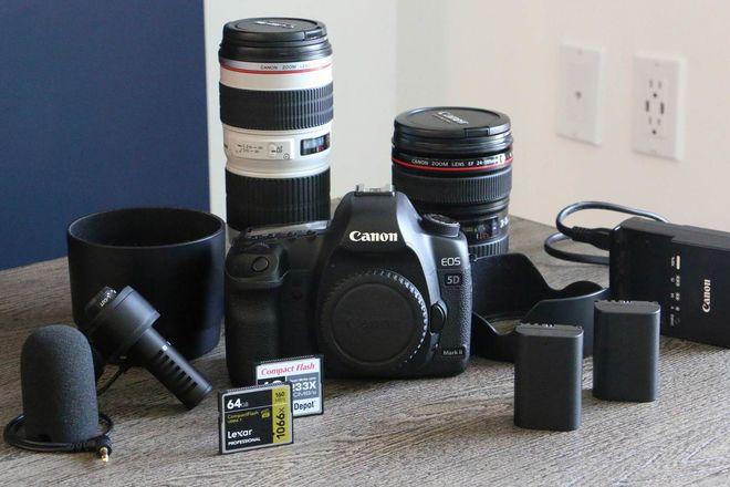 Canon 5D Mark II - FULL KIT