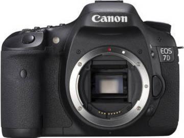 Rent: Canon 7D DSLR