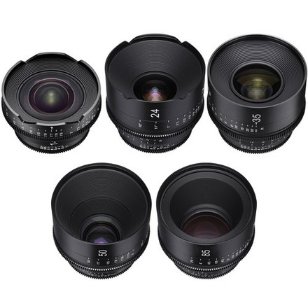 ** SPECIAL** XEEN ROKINON CINEMA LENSES SET, CHOOSE FIVE