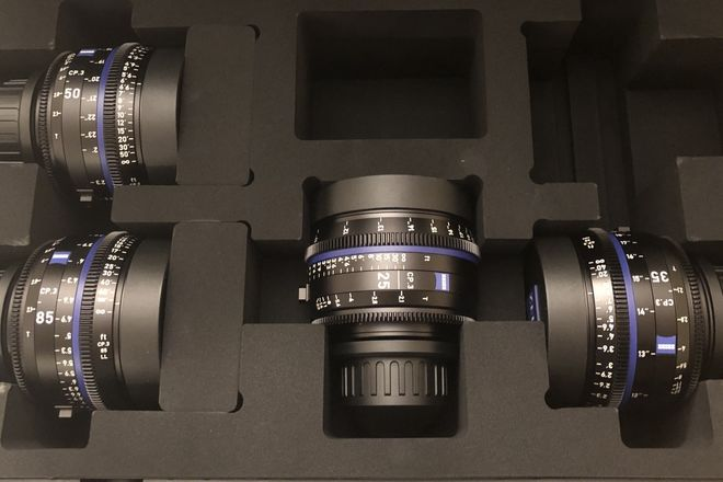 Zeiss Compact prime CP3 kit