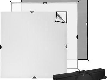 Rent: Wescott scrim Jim 4x4 break down frame with rags
