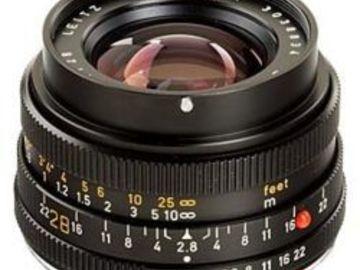 Rent: Leica Elmarit-R I 28mm f/2.8
