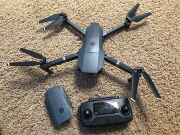 DJI Mavic Pro with 2 Batteries and Carrying Case