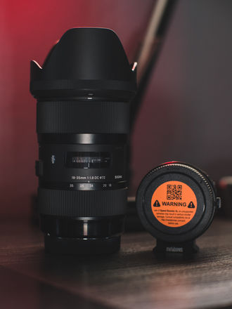 Sigma 18-35mm f/1.8 With Metabones XL EF to MFT