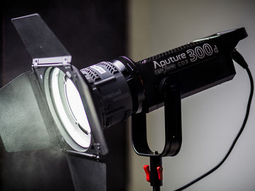 Rent: Aputure Light Storm COB 300d LED (2 of 2)