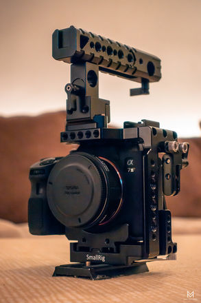 Sony a7 III w/ QR Cage & Top Handle Pro Indie Kit