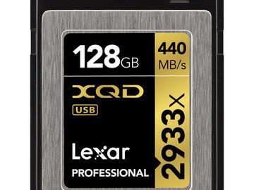 Rent: Lexar 128GB 2933x XQD 2.0 Memory Card