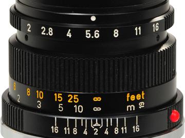 Rent: Leica 50mm f/2.8 Summicron-R II