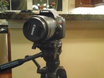 Rent: Canon SL1 DSLR with 18-55 lens