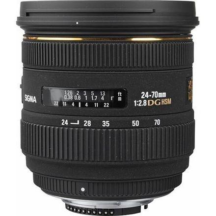 Sigma 24-70mm F/2.8 EX DG HSM IF Lens