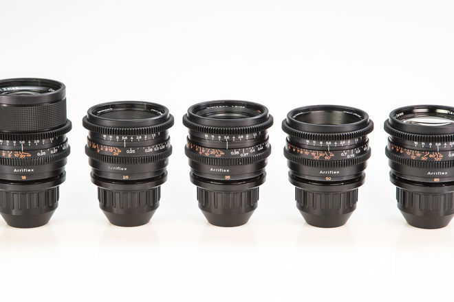Zeiss Super Speed Mark I Lens Set