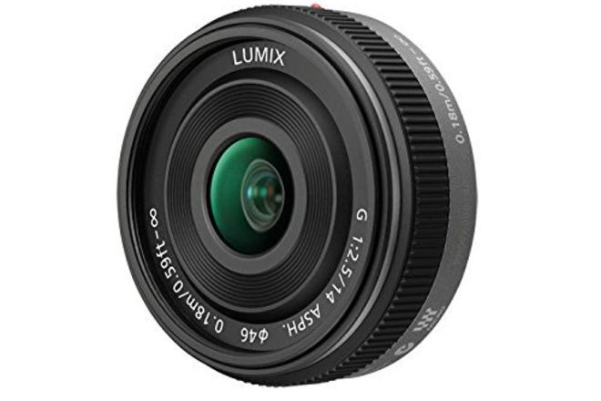 Panasonic LUMIX G 14mm f/2.5 ASPH II Lens
