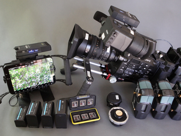 Sony FS7 Full -Teradek  + Odyssey 7Q+(w/ RAW, Apollo, Titan)