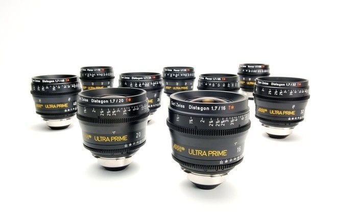Zeiss Ultra Prime 2 Lens Set