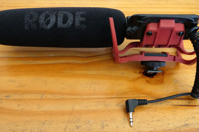 Rode VideoMic Pro Condenser Microphone with Shockmount