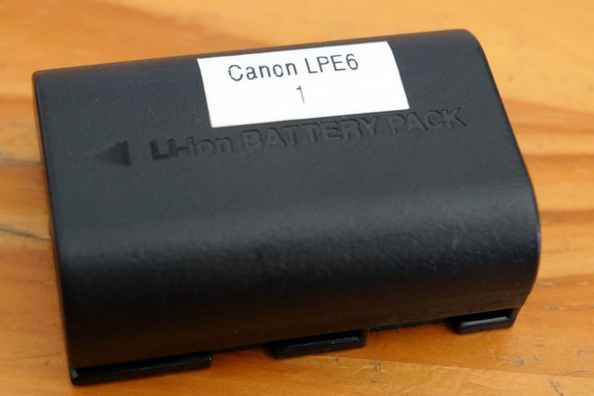 LP-E6N Lithium-Ion Battery Pack