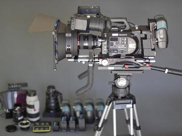 Rent: Sony FS7 Deluxe - Teradek + Lenses  + Odyssey7Q+/Apollo