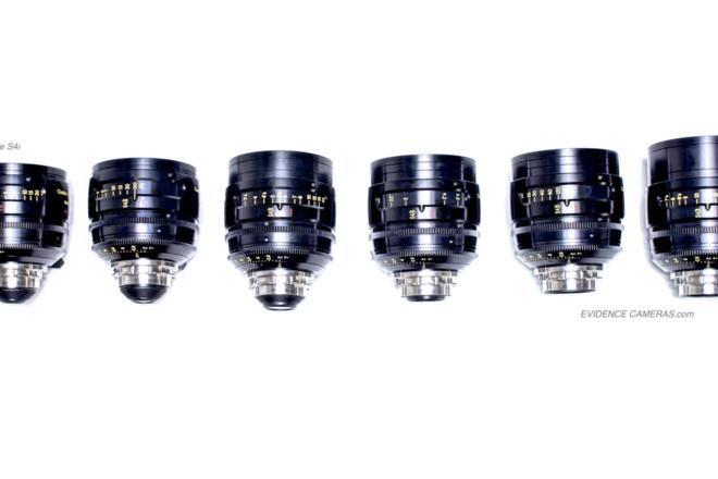 Cooke S4 S4/i Prime Lens Set