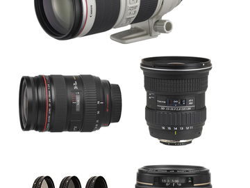 Rent: Canon Lens Package