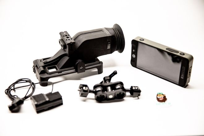 SmallHD 502 SDI and HDMI monitor with sidewinder