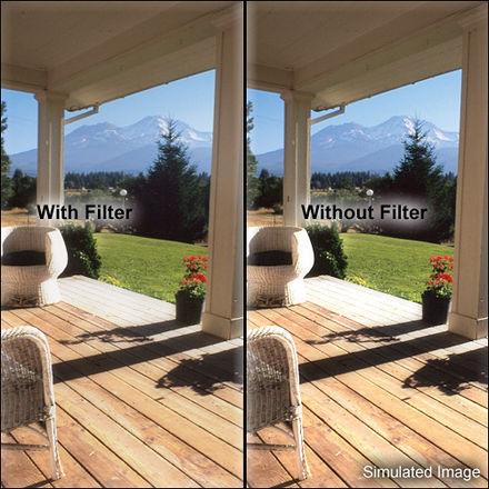 Tiffen 4x5.65-in Black Pro-Mist 1/4 Filter