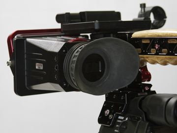 Rent: Zacuto Z Finder for Canon C-300 Optical viewfinder