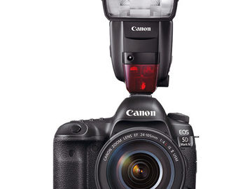 Canon 5D Mark|V with 24-70 canon lens with Canon - Speedlite